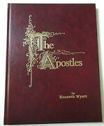 The Apostles By Kenneth Wyatt Color Portraits Of Apostles And Jesus Hc 1989