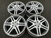 Set Of 18 Amg Mercedes Benz Factory C Or E Class Rims In Showroom Condition