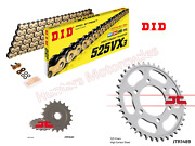 Did Gold Xring Chain And Jt Sprockets Kit Set For Kawasaki Z900 Rs 2018 To 2020