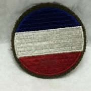 Vintage Military Patch Us Army Ground Forces Wool Variant App 3