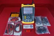 Fluke 199c 200mhz 2ch 2.5gsa/s Scopemeter With Case And Accessories