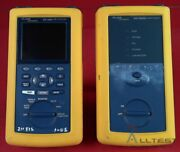 Fluke Dsp-4300 / Dsp-4300sr Network Cable Cat 5 And 6 Tester W/ Smart Remote
