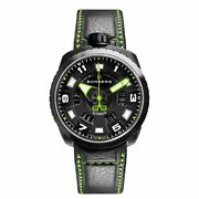 Bomberg Bolt-68 Menand039s Automatic Watch Black Green