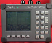 Anritsu S251a Sitemaster Antenna And Cable Analyzer 625 Mhz To 2500 Mhz
