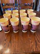 12 Vintage 1988 Coca Cola Plastic Cups Glasses Thunderdome Never Used
