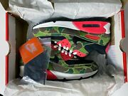 Nike Air Max 90 Atmos Duck Camo Size 6 Ds Black Infrared Am90