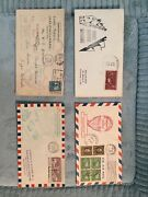 Usa C13 - C15 Xf Used Zeppelins On 1st Day Covers