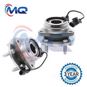 2 New Front Wheel Bearing Hub For Chevy Malibu Pontiac G6 Saturn W/abs 513214