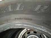 Dunlop A/t Radial Rover Tires Slightly Used Qty 4andnbsp P215/70 R 16andnbspandnbsp