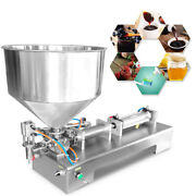 Automatic Paste Filling Machine 100-1000ml For Sauce Cream Honey Cosmetics Tooth