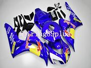 Blue Bull Red Yellow Abs Injection Fairing Kit Fit For 2006 2007 Cbr1000rr