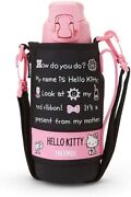Sanrio Hello Kitty Thermos Sports Bottle With Cover 800ml