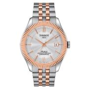 New Tissot Ballade Powermatic 80 Two-tone Silicium Menand039s Watch T1084082227800