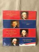 2007 United States Mint Presidential One Dollar Coin Uncirculated Set