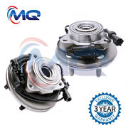 2 Front Wheel Bearing Hub For 06-10 Ford Explorer Mercury Mountaineer 4.0l 4.6l