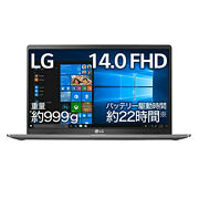 Lg Laptop Gram 999g / Battery Approx. 22 Hours / 10th Generation Core I5 / [new]
