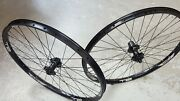 Halo T2 Disc Wheels 26 Spin Doctor Hubs Axle Options Mountain Bike Black