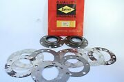 Willys Jeep Rear Outer Wheel Bearing Grease Seals And Shim Set 2520-028-3431 Nos