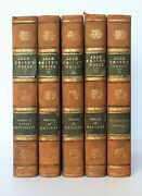 First Edition The Works Of Adam Smith 1812-1811 - 5 Volumes Premiandegravere Andeacutedition