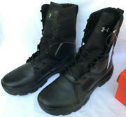 Under Armour Ua Fnp Tactical 1287352-001 Blk 8 Swat Ems Sheriff Boots Menand039s 12