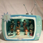 Rudolph And The Island Of Misfit Toy Mini Figurine Display 862703 And All Figurines