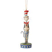 Jim Shore 6007507 Cat In The Hat Ornament 2020 New