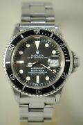 Rolex Vintage 1680 Ss 40mm Submariner Mens Automatic Watch W/ Service Dial