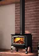 Osburn 1700 Wood Stove Ob01700 Traditional Free Standing Pkg W/ Door And Ash Pan