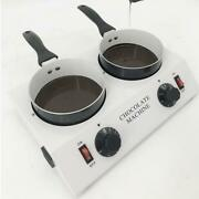 Electric Chocolate Melting Machine Soup/ Cream / Butter Melter 2 Pots 4.4lbs