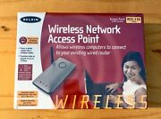 Belkin Wireless Network Access Point Router 2.4ghz, 802.11b 11mps - New/ Sealed