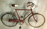 Schwinn 3 Speed With Chrome Fenders, Original Saddle And Grips