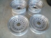 American Racing Outlaw Ii Gasser Wheels 15x9 And 15x4.5 Rims Set Of 4