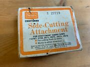Craftsman Sabre Saw Side Cutting Attachment 9_27719 With Original Box -free Ship