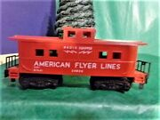 Vintage S American Flyer Lines Ac Gilbert 24636 Radio Equipped Caboose Mytr311