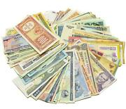 50 Different Banknotes, Real Valuable Paper Money, Old Currency