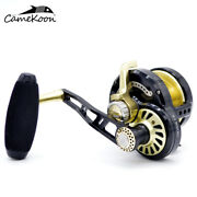 Camekoon Slow Jigging Fishing Reel With Lever Drag For Saltwater And Freshwater