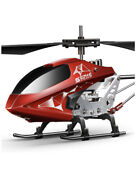 Remote Control Helicopter Hover Altitude Hold 2 Speeds Led Lights 3 Channel Rc