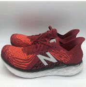 New Balance Fresh Foam Running Shoes Crimson Red 2e Wide M1080r10 Menand039s Size 9.5