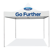 Ford 10x10 Pop Up Canopy Tent