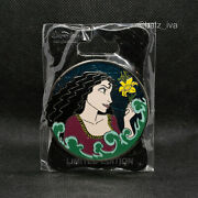 Disney Wdi - Mother Gothel Tangled Profile Pin - Limited Edition