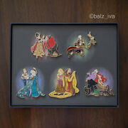 Disney Fairytale Designer Collection 5 Pin Set - Limited Edition 💎💎💎💎💎