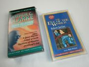 Lot Of 2 Audiobooks - Arthur C Clarke Collection And Eye Of The World - 6 Cassette