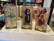 Disney Fairytale Designer Collection Tinkerbell, Zarina, And Fawn