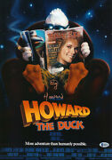 Ed Gale Howard The Duck Autographed 12x18 Beckett Bas Coa Signed 2