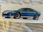 Original Concept Drawing Of New Shelby Cobra From 1996