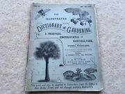 C1905 Vintage The Illustrated Dictionary Of Gardening Part 10 320 Page Magazine