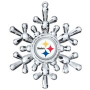 6 Pittsburgh Steelers Nfl Snowflake Christmas Tree Ornaments Holiday Case Price