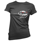 Rear Ended Rx7 Womens T-shirt Pick Colour And Size Gift Present Japanese Drift