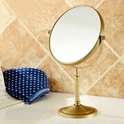Antique Brass Magnifying Makeup Cosmetic Mirror Decorative Collectible Gift Item
