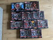 Marvel Legends Figures The First 10 Years Infinity War Full Set Mib Brand New